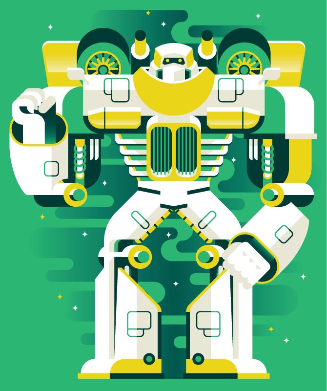 Robot av Marco Goran Romano
